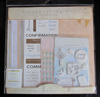 Sacred Moments Scrapbook Kit