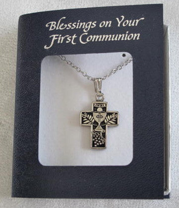 Silver Communion Cross Pendant