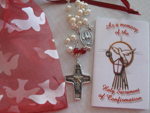 Confirmation Rosary & Booklet