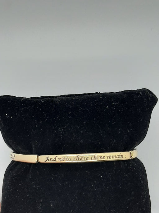 But The Greatest Of These Is Love Stretch Bracelet - Catholic Gifts Canada