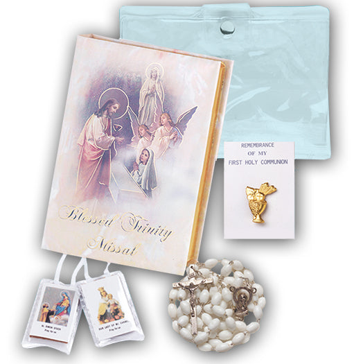 Blessed Trinity Communion Set for Girls