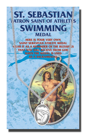 St. Sebastian Swim Medal for Women