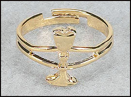 Adjustable Chalice Ring