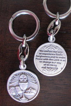 First Reconciliation Key Chain - Catholic Gifts Canada