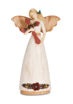 Faith Angel with Cross Figure - Catholic Gifts Canada