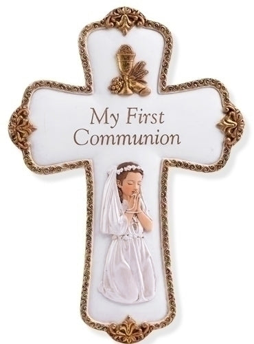 Girl's Communion Wall Cross