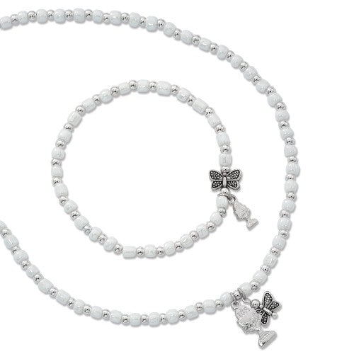 Butterfly Kisses Bracelet & Necklace Set