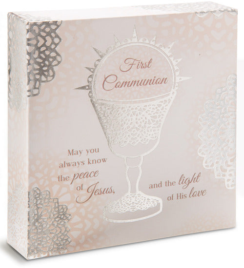 Communion Plaque