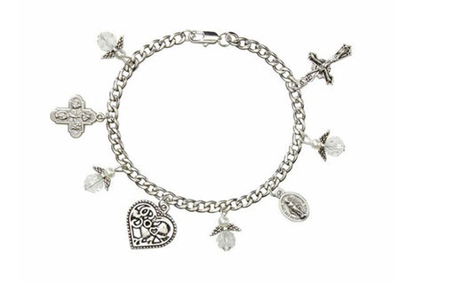 Guardian Angel Charm Bracelet - Catholic Gifts Canada