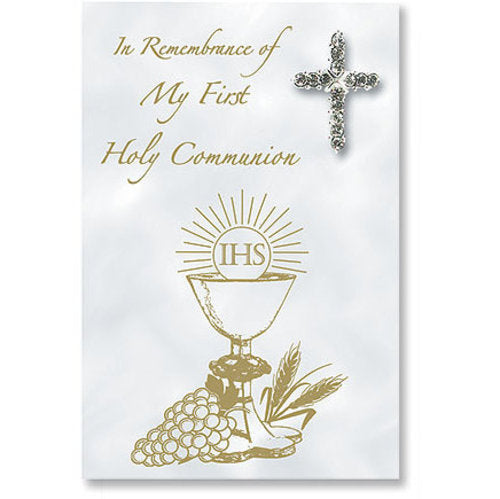 Cross Pin for Girl's First Communion