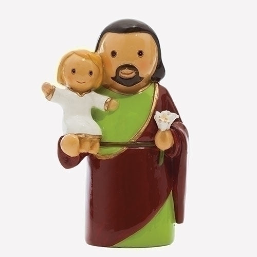 St. Joseph and Jesus Figure