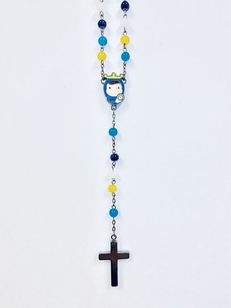Tiny Saints Multi-Coloured Rosary