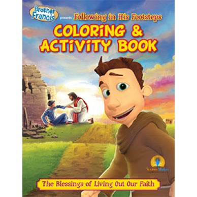 Brother Francis Following In His Footsteps Activity Book