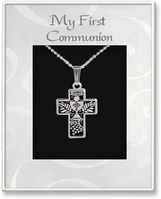 First Communion Cross Pendant - Catholic Gifts Canada