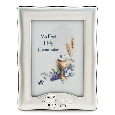 Silver Communion Picture Frame - Catholic Gifts Canada
