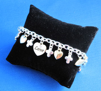 Faith, Hope & Love Bracelet - Catholic Gifts Canada