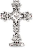 Standing Filigree Confirmation Cross