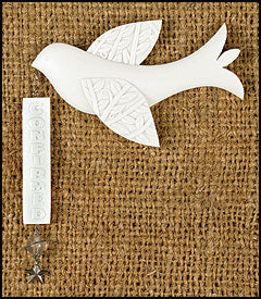 Confirmation Dove Dangler