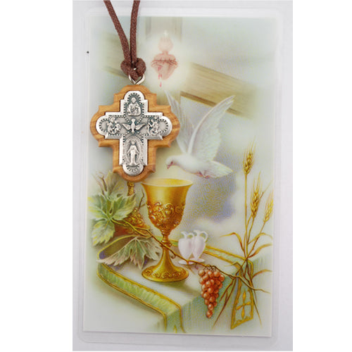 4-Way Confirmation Cross Pendant Set