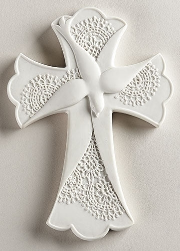 Lace Confirmation Cross