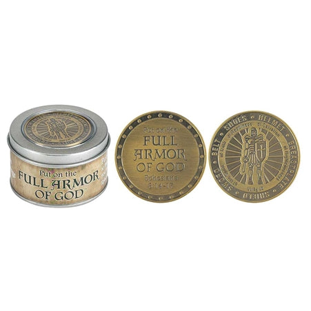 Armor of God Pocket Coin & Box