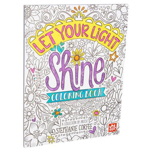 Let Your Light Shine Colouring Book