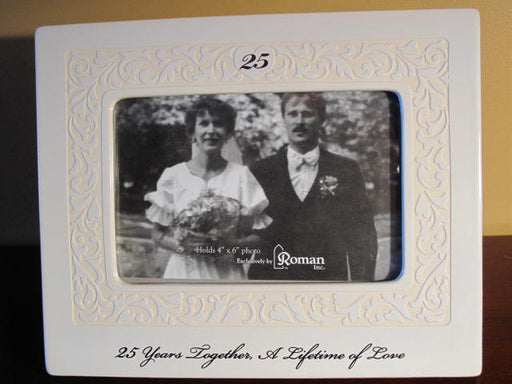 Lifetime of Love 25th Anniversary Frame