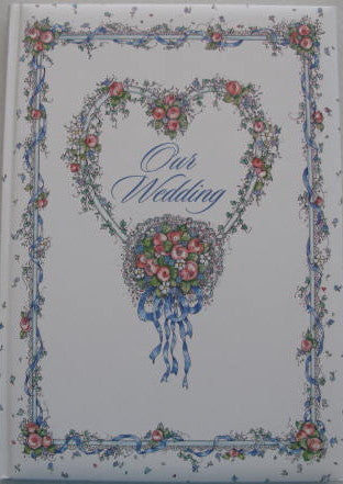 Our Wedding Keepsake Book
