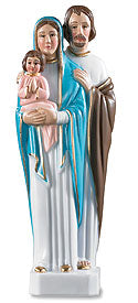 "Holy Family Statue (6"")"