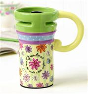 Ceramic Travel Mug for Grandma - Catholic Gifts Canada