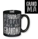 Chalkboard-Style Tall Mug for Grandma