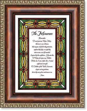 The Memorare Framed Print