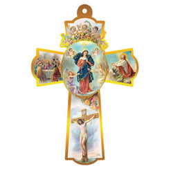 Our Lady Untier of Knots Wall Cross