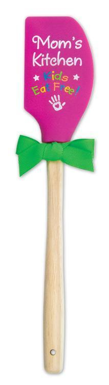 """Mom's Kitchen"" Silicone Spatula - Catholic Gifts Canada"