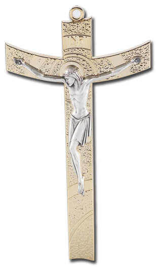 Contemporary Metal Crucifix