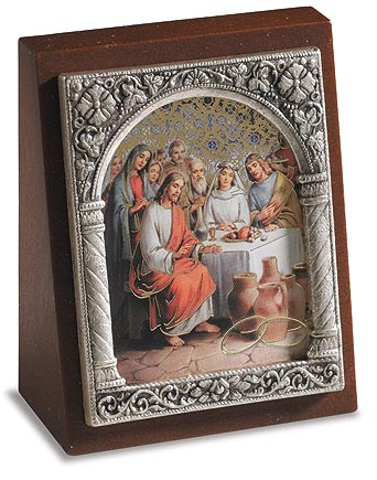 Wedding at Cana Devotional Plaque