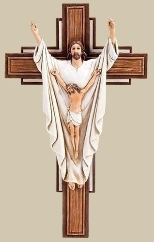 Crucified & Risen Christ Crucifix