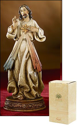 "6"" Divine Mercy Statue - Catholic Gifts Canada"