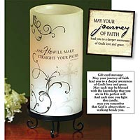 RCIA Battery-Operated Candle & Card