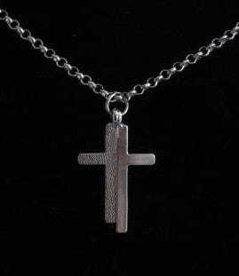 Shimmering Cross Necklace