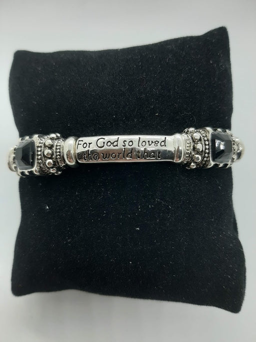 God So Loved the World Bracelet - Catholic Gifts Canada