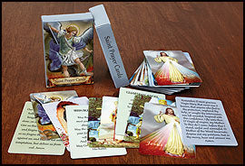 Saint Prayer Card Assortment (Set of 54) - Catholic Gifts Canada