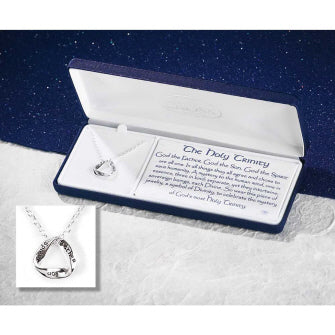 Holy Trinity Mobius Triangle Necklace