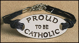 """Proud to be Catholic"" Bracelet"