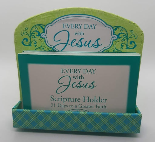 Every Day With Jesus Scripture Cards & Holder