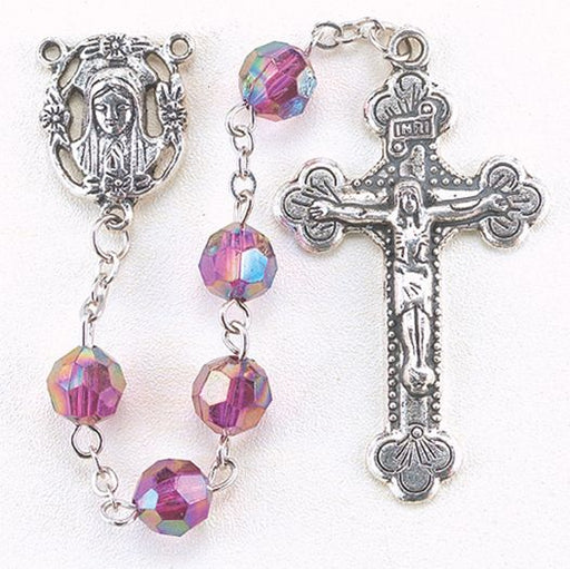 Birthstone Rosary for February