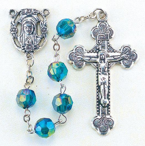 Birthstone Rosary for May