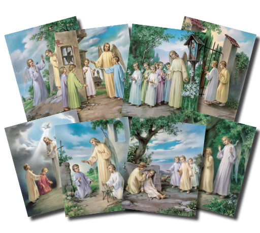 Ten Commandments Poster Set