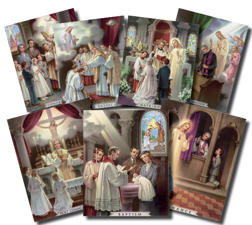 Seven Sacraments Poster Set