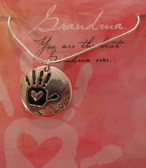 """You are the best Grandma"" Necklace - Catholic Gifts Canada"
